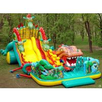 Wholesale Inflatable Fairground In Dragon Shape For Children Amusement Games from china suppliers