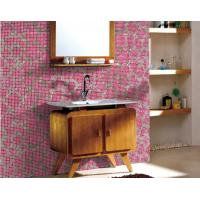 Wholesale Bathroom walling mosaic design recycled glass mosaic pattern from china suppliers