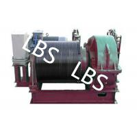 Wholesale Electric Winding Hoist Wrie Rope Electric Marine Winch Lifting Capacity 10T , 30T from china suppliers
