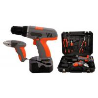 "Wholesale 4.8V 1/4"" Li-ion 1.3Ah Cordless Screwdriver Sets Cordless Power Tools Kit for DIY from china suppliers"