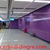 Quality Vitreous enamel panel for interior wall cladding panel China supplier  F22 for sale