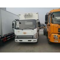 Wholesale 10 tons FAW Jiefang 4x2 mobile cold room trucks from china suppliers
