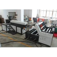 Wholesale Horizontal Type Plastic Rope Making Machine 65mm / 85mm / 95mm Screw Diameter from china suppliers