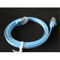 Wholesale high quality cat6a/cat6 patch cord,flat patch cord from china suppliers