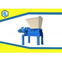 Wholesale 45 Kw Motor Power Solid Waste Shredder Machine For Wood Pallet / Cloth / Plastic Material from china suppliers