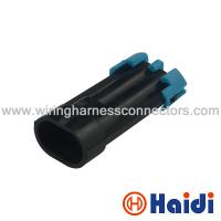 Buy cheap Male Sealed  Electrical Automotive Wiring Harness Connectors 2 Pin Plug 12162000 from wholesalers