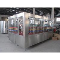 Wholesale PET Bottle Juice Filling Machinery 6.5Kw Auto Liquid Filling Machine from china suppliers