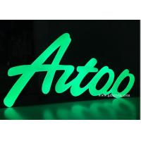 Wholesale Green Classical Stainless Steel Signs Popular Metal Wall Letters 12 Years Experience from china suppliers
