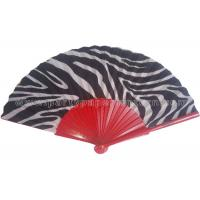 Wholesale Special Design Of Fan Ribs Spray Paint Folding Wooden Hand Fan With Transfer Printing from china suppliers