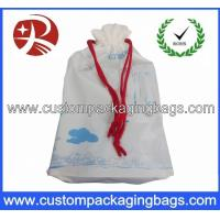 Wholesale Customised Printed Waterproof Drawstring Plastic Bags For Promotional from china suppliers