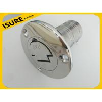 "Wholesale Boat Deck Fill / Filler Keyless Cap -1 1/2""- Gas Marine Stainless Steel from china suppliers"