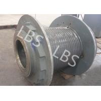 Wholesale High Efficient Tower Crane Wire Rope Winch Drum Single Drum 220 Volt from china suppliers