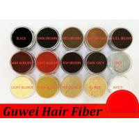 Wholesale Keratin Hair Building Fiber Thickening Spray Hair Fiber 25g Instant 15 Colors from china suppliers
