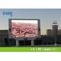 Wholesale Waterproof / Damp Proof P10 Outdoor LED Display , 1R1G1B Large LED Display Panels from china suppliers
