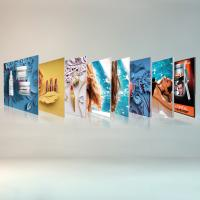 Wholesale Free Standing Seg Photo Fabric Picture Frames Display For Exhibition Shopping Mall from china suppliers
