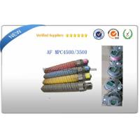 Wholesale Ricoh aficio MPC3500E Color Laser Toner Cartridge With Chip For AF MPC4500 copiers from china suppliers