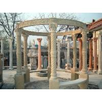 Wholesale Nice Carved Six Columns Marble Arbour (LY-496) from china suppliers