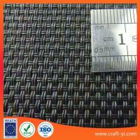 Wholesale Black color textilene sun loungers fabric 2X2 woven style from china suppliers