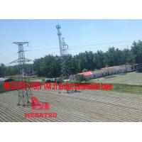 Wholesale MEGATRO 110KV 1A4 J1 tension transmission tower;megatro transmission steel tower;angle steel tower of 110kv line power from china suppliers