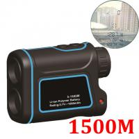 Wholesale 1500MOutdoor Laser Distance Meter Telescope Digital Monocular Rangefinder High-precision Range Finder Distance for Golf from china suppliers