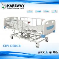 Wholesale Aluminum Side Rails Electric Hospital Bed Four Motors Five Functions For VIP Room from china suppliers
