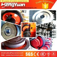 Wholesale Electric double girder overhead bridge cranes wheels from china suppliers