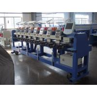 Wholesale 9 Needle Flat / Hat /  Tubular Embroidery Machine With Fast Data Transmission from china suppliers