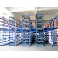 Wholesale Structural Rack Supported Mezzanine With Racking Frames / Step Beams / Steel Panel from china suppliers