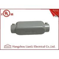 Wholesale Grey 3/4 inch 1 inch Aluminum Rigid Conduit Body PVC Coated Female Thread from china suppliers