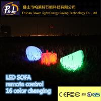 Wholesale led furniture plastic light sofa from china suppliers