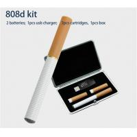 Wholesale 808D Disposable E Cigarette Smoking Pipes 300 - 500 Puffs Leather Box Kit from china suppliers