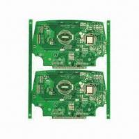 Quality Double-sided PCB for Net Phone, with Bonding IC for sale