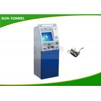 Quality Free Standing Retail Mall Self Service Kiosk Barcode / Receipt / Coupon / QR Code Use for sale