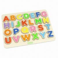 Wholesale Alphabet Learning Board, Chunky Developmental Board Game from china suppliers