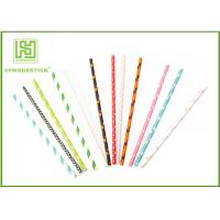 Wholesale Modern Fashion Party Paper Straws For Drinking Stirrering 10000pcs / Carton from china suppliers