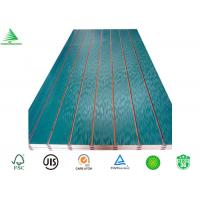 Wholesale Top sale 4'X8' China home decor dark green shadow wall melamine slotted mdf board from china suppliers