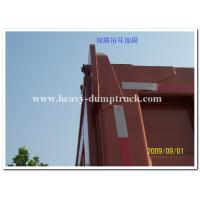 Quality 16m3 truck bucket volume dump truck 24 tons to transport sand or stone in tough road in africa for sale