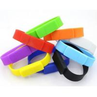 Wholesale Bracelet Silicone 8GB USB 2.0 Flash Drive Water Resistant Encrypted from china suppliers