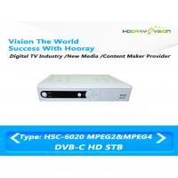 Wholesale Digital H 264 Set Top Box DVB C Receive RF Signal 9M baud HD Symbol rate from china suppliers