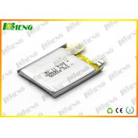 Wholesale 403035 Charging Lithium Polymer Battery Pack 3.7V 390Mah For Electric Toys from china suppliers