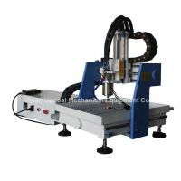 Wholesale Desktop 360*360mm Mini CNC Metal Carving Machine with DSP Control from china suppliers