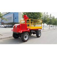 Wholesale Garden wheel type hydraulic drive self propelled work platform from china suppliers