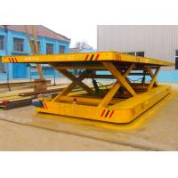 Wholesale Towed cable powered bay to bay material motorized transfer bogie from china suppliers