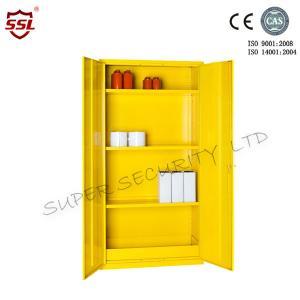 Wholesale Adjustable Shelf 36liter Hazardous Flammable Substance Storage , Medium Cabinets from china suppliers