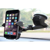 Wholesale Iphone Samsung Adjustable Car Phone Holder For Car Dashboard / Windscreen from china suppliers