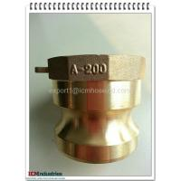 Wholesale hot sales top quality low price Brass connect Kamlok quick Coupling part A from china suppliers