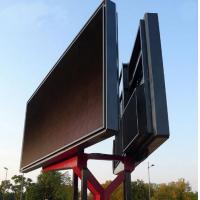 Wholesale Small Trailer Mounted Double Sided LED Sign P6 P8 P10 , 6mm Pixel Pitch from china suppliers