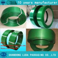 Wholesale high quality safety half transparent pet packing belts 12mm from china suppliers