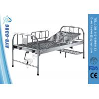 Wholesale Detachable Manual Single Shake Stainless Steel Hospital Bed With Footboard from china suppliers
