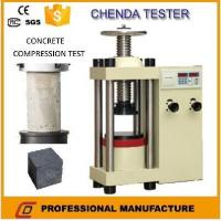 Wholesale YES-2000 Hydraulic Compression Testing Machine +Concrete Compression Testing Machine from china suppliers